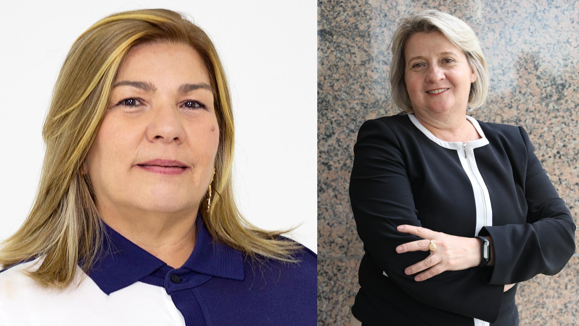 Angela Dantas e Lucélia Lecheta